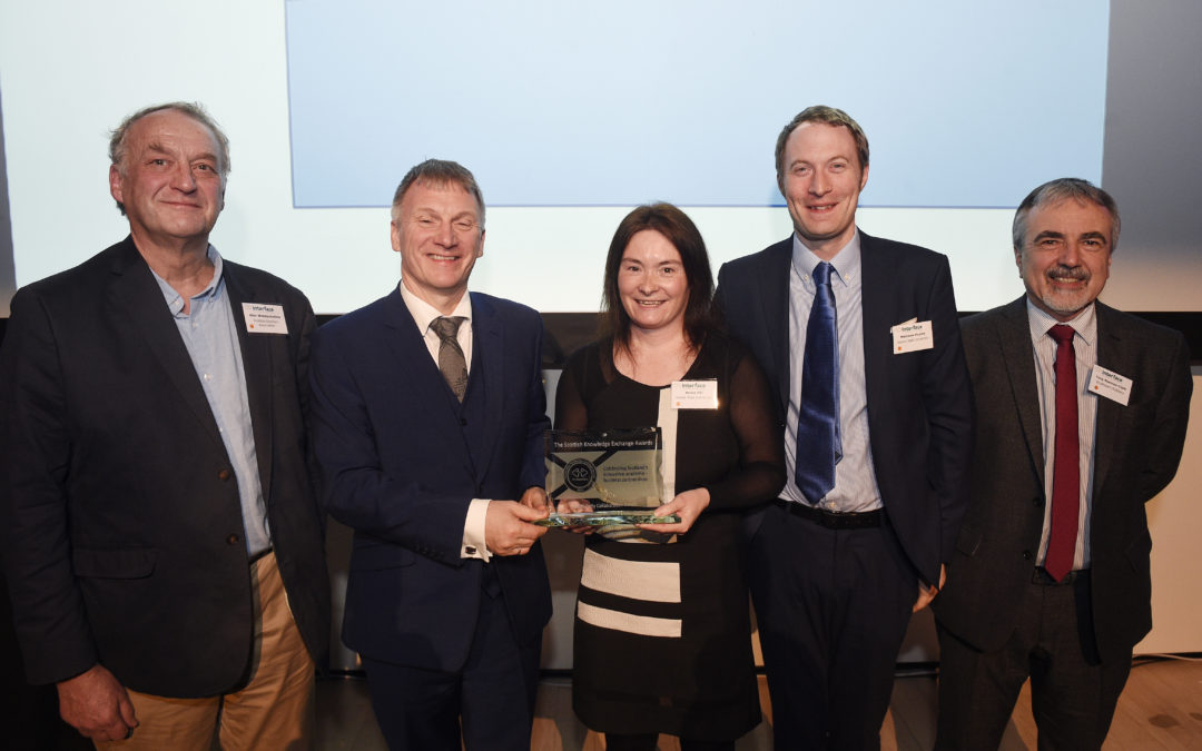 Winners Of 4th Scottish Knowledge Exchange Awards Announced
