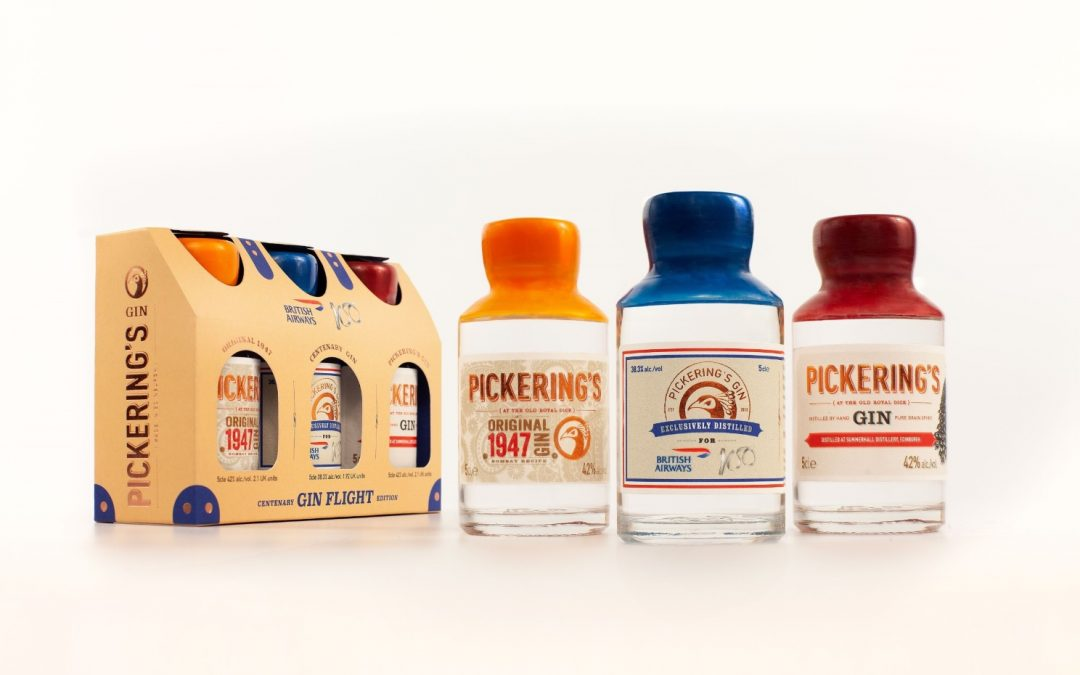 Pickering's Gin pack