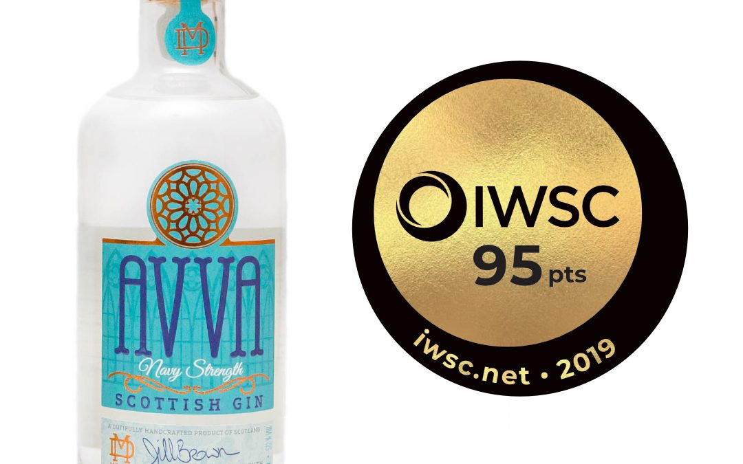 Avva Navy Strength Gin sails to TOP AWARD