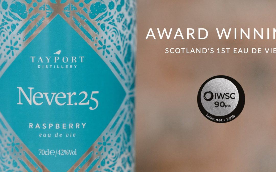 Tayport Distillery wins silver for Scotland's 1st Eau De Vie and Great Taste Award for Scotland's 1st Cassis