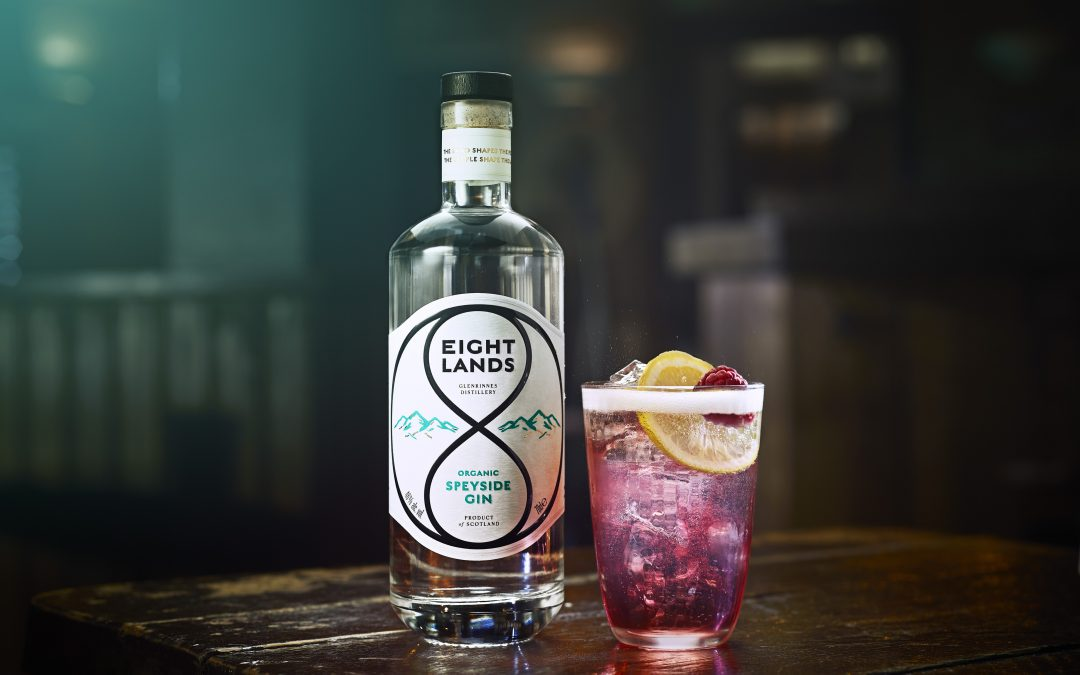 Launch of Eight Lands Organic Speyside Gin and Vodka