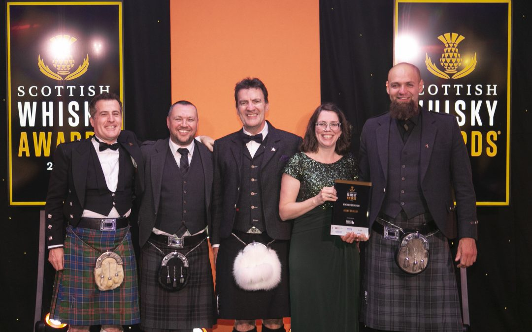 Arbikie wins Newcomer Whisky Distillery of the Year Award