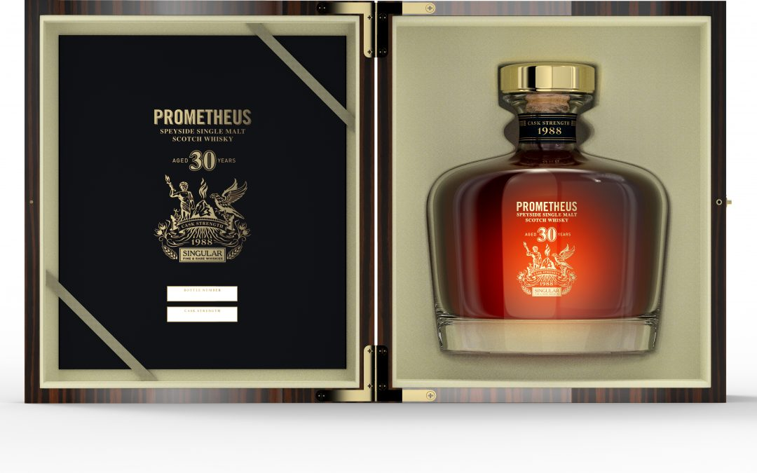 Glasgow Distillery Release Prometheus 30 Year Old Speyside Single Malt Whisky